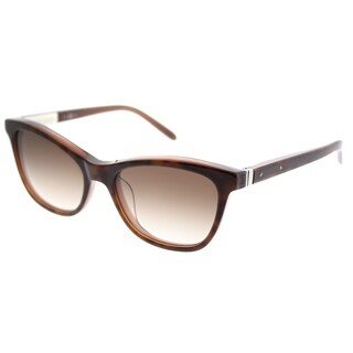 Bobbi Brown Cat-Eye The MIlo EE8 B1 Women Tortoise Cocoa Frame Brown Gradient Lens Sunglasses