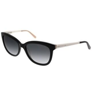 Bobbi Brown Rectangle The Stella JBD Unisex Black Nude Frame Grey Gradient Lens Sunglasses