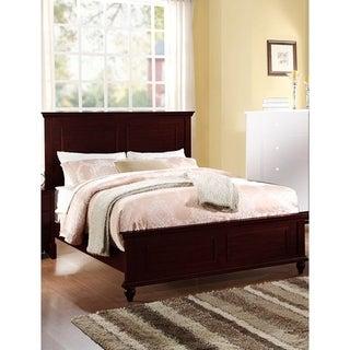 Exemplary Wooden E.King Bed, Dark Cherry