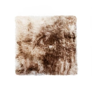Link to Sheepskin Chair Seat Cover 17x17 Gradient Chocolate Similar Items in Table Linens & Decor
