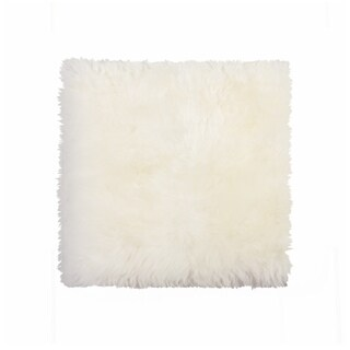 Sheepskin Chair Seat Cover 17x17 Natural