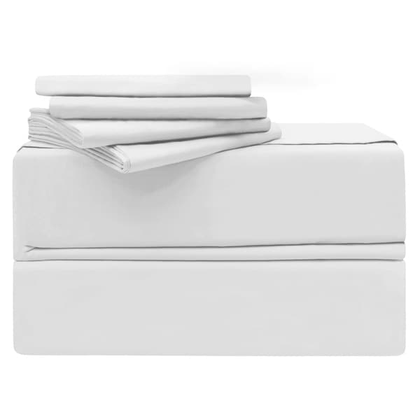 Simply The Best Luxury 6 Piece 620 Thread Count 100 Cotton Sheet Set