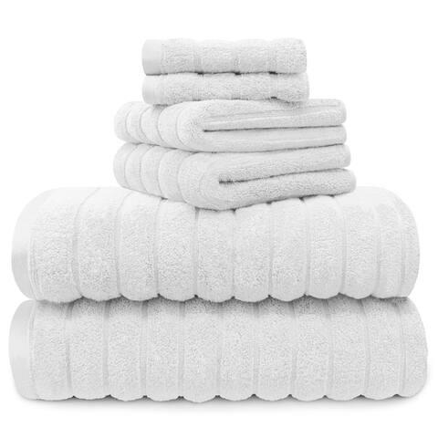 Juliette LaBlanc 100% Cotton 6-Piece Spa Towel Set