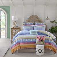 Echo Design Sofia Cotton Reversible Multi Print Comforter Set