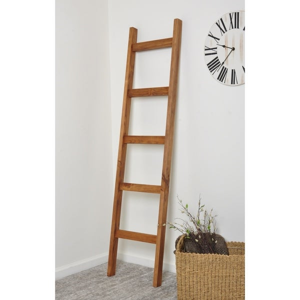 6ft Handcrafted Blanket Ladder