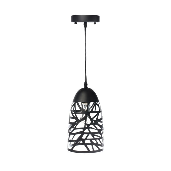 Modern Touch Beehive Pendant Lamp-Black