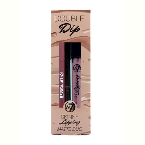 W7 Double Dip Skinny Lipping Matte Duo Apples & Pears
