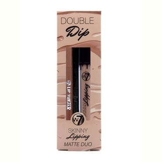 W7 Double Dip Skinny Lipping Matte Duo Off The Wall