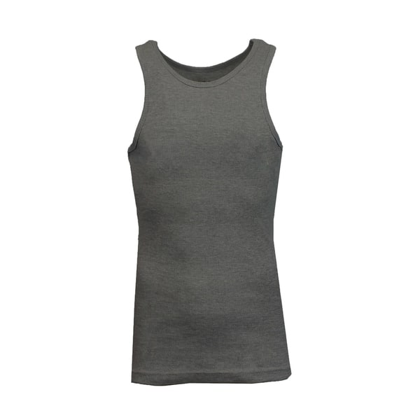 40575e1a4027c Shop Galaxy By Harvic Men s Heavyweight Ribbed Tank Tops - On Sale ...