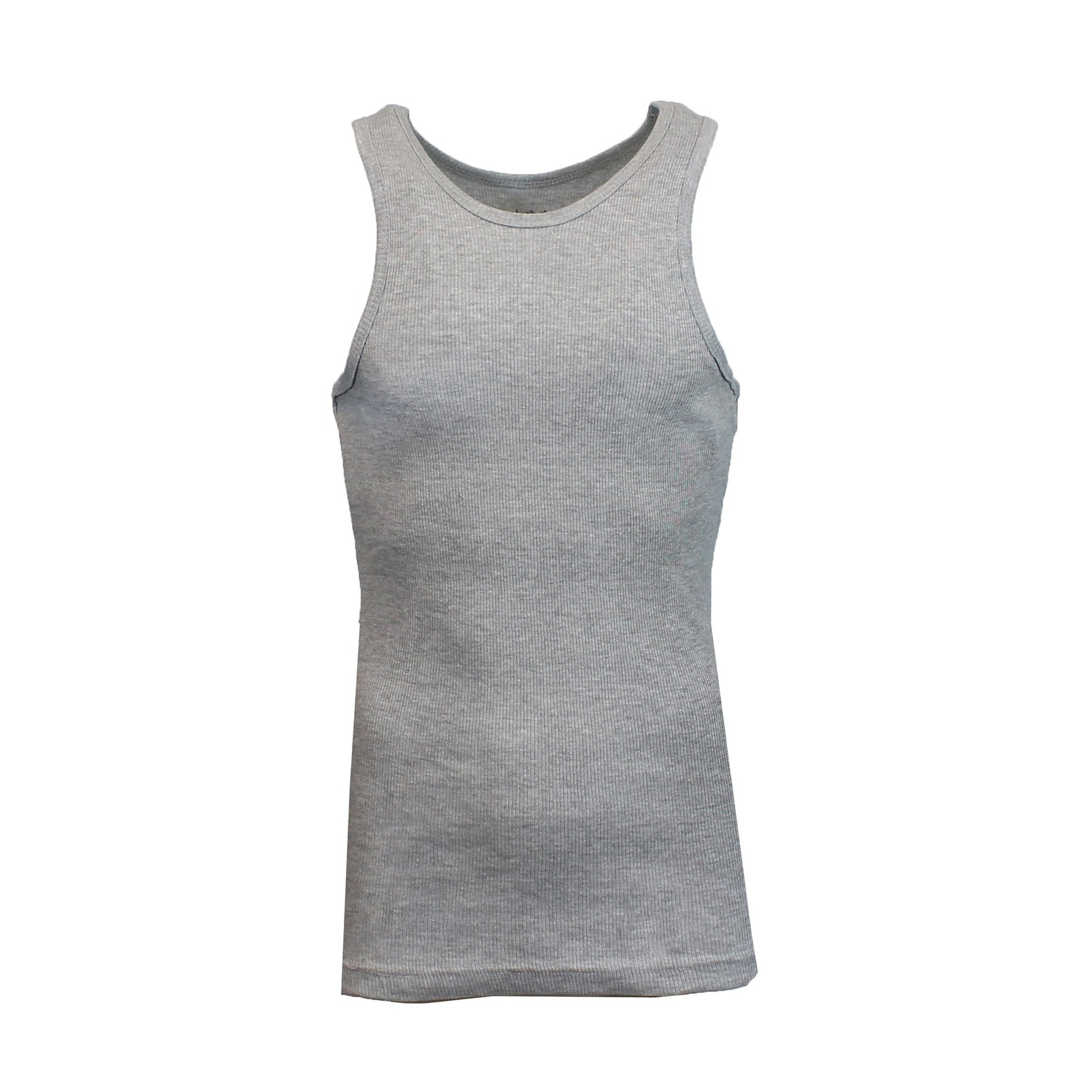 ddd97cb3cc4db Shop Galaxy By Harvic Men s Heavyweight Ribbed Tank Tops - On Sale - Free  Shipping On Orders Over  45 - Overstock - 20652440