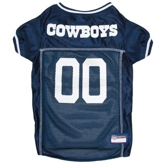 Dallas Cowboys Dog Jersey Extra Small