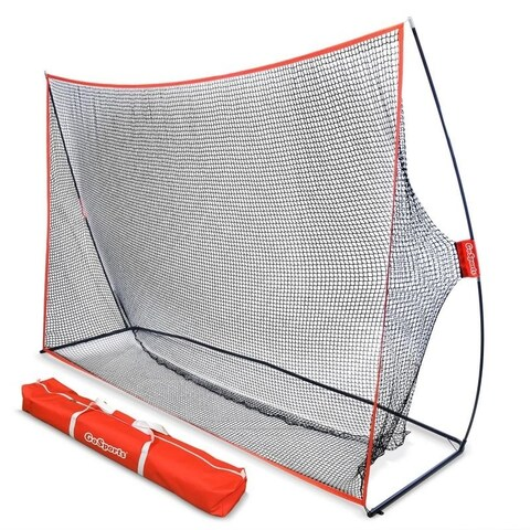 GoSports Golf Practice Hitting Net - Huge 10' x 7' Size - Designed By Golfers for Golfers