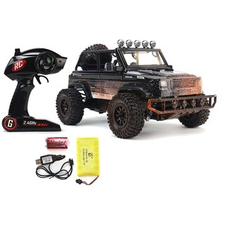 SUV Defender Jeep Wrangler RC Toy Truck 2.4 GHz 1-12 Scale