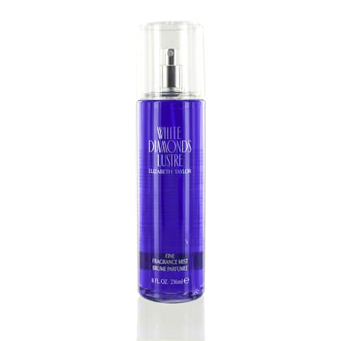 Elizabeth Taylor White Diamonds Lustre Women's 8-ounce Body Mist Spray