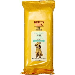 3-Pack Burt's Bees for Dogs Multipurpose Wipes with Honey