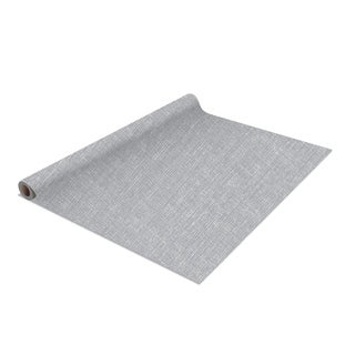 2 Pack Linen Self-Adhesive Shelf Liner in Grey
