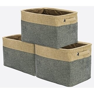 Twill Storage Basket Set - 3 Pack