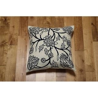 Handmade Decorative Throw Pillow Cover (India)
