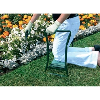 English Garden 24 in. Folding Garden Kneeler and Garden Seat