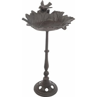 Metal Bird Feeder on Pedestal