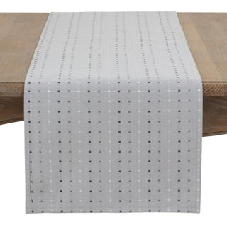 Square Stitched Table Runner