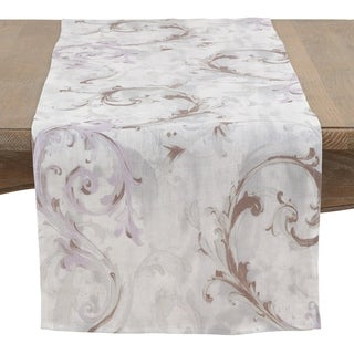 Baroque Strokes Table Runner