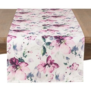 Painted Garden Table Runner