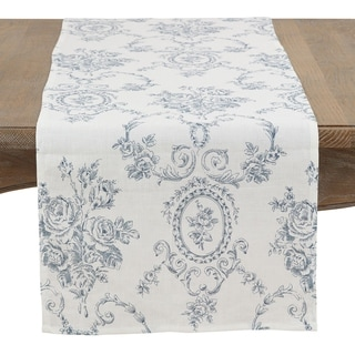Link to Floral Story Linen Table Runner Similar Items in Table Linens & Decor
