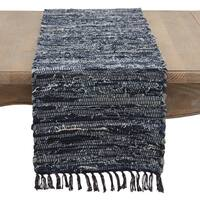 Denim Chindi Table Runner