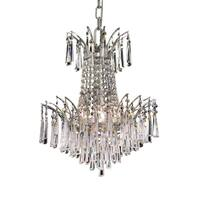 Fleur Illumination Collection Pendant D:16in H:16in Lt:4 Chrome Finish