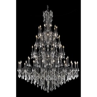Fleur Illumination Collection 60-Light Dark Bronze Finish Chandelier