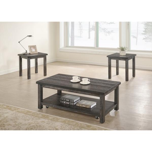 Best Furniture Shop: Shop Best Master Furniture Transitional 3 Pcs Coffee Set