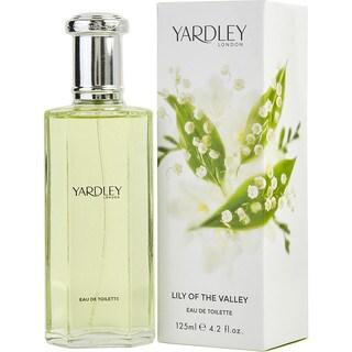 Yardley Lily of the Valley Women's 4.2-ounce Eau de Toilette Spray