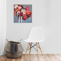 Easy Art Prints Jacqueline Brewer's 'Confetti' Premium Canvas Art