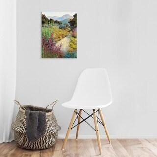 Easy Art Prints Ellie Freudenstein's 'Garden Path' Premium Canvas Art (4 options available)