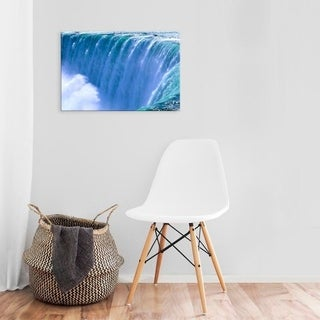 Easy Art Prints Bill Bachmann's 'On The Edge Of Powerful Niagara Falls' Premium Canvas Art (4 options available)