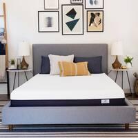 BeautySleep 10-inch King-size Plush Gel Memory Foam Mattress