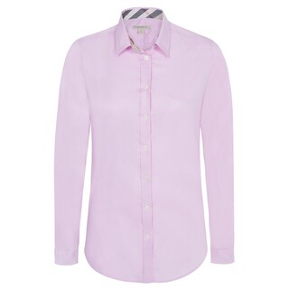 Women's Burberry Pink Dress Shirt