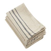 Linen Stripes Napkin  (set of 4) - 20""