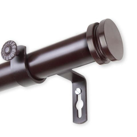 InStyleDesign Pita 1 inch Diameter Adjustable Curtain Rod