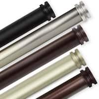 InStyleDesign Pita 1 inch Diameter Adjustable Curtain Rod