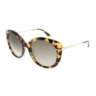 Salvatore Ferragamo Cat-Eye SL 724S 215 Women Havana Frame Grey Gradient Lens Sunglasses
