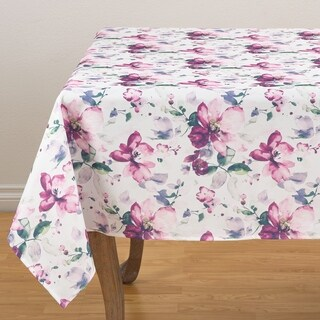 "Painted Garden Tablecloth - 58"" x 58"""