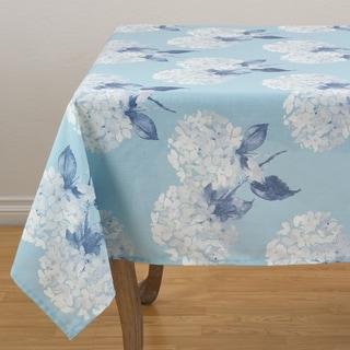 """Hydrangea Garden Tablecloth - 55"""" x 55"""""""