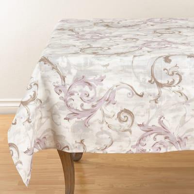 Baroque Strokes Linen Tablecloth