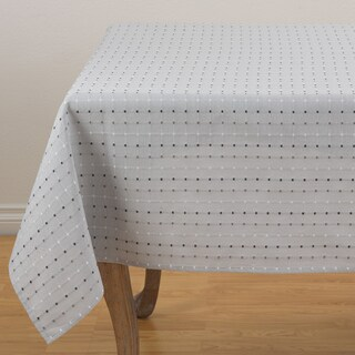 "Square Stitched Table Topper - 70"" x 70"" (3 options available)"