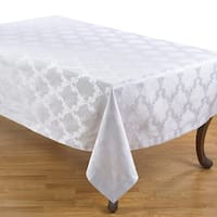 Damask Simply Luxurious Tablecloth