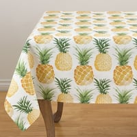 """Pass the Pineapple Tablecloth - 56"""" x 56"""""""