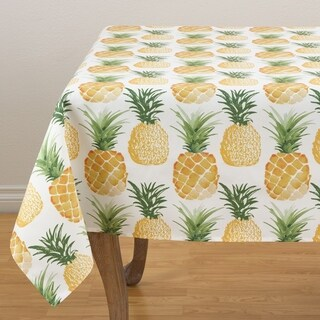 "Pass the Pineapple Tablecloth - 56"" x 56"""