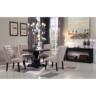 Best Master Furniture 5 Pcs Round Dinette Set (2 options available)